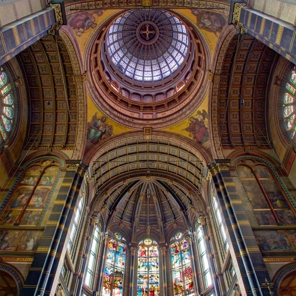 Church of St Nicholas, Amsterdam – beautiful ceiling