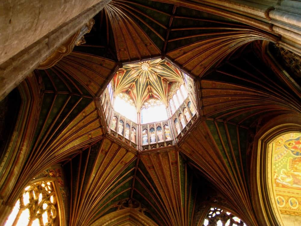 Ely Cathedral, Cambridgeshire, England – beautful ceiling