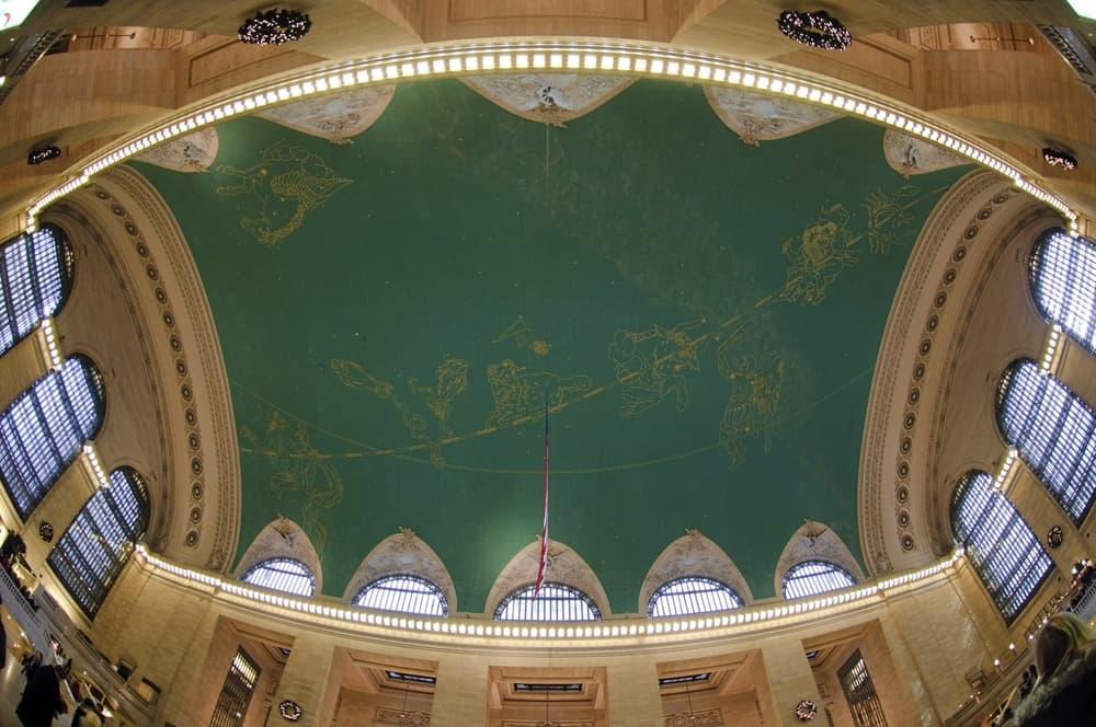 Grand Central Station, New York – beautiful ceiling