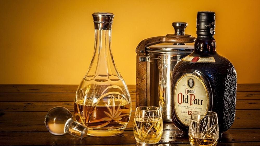 Grand Old Parr – blended scotch