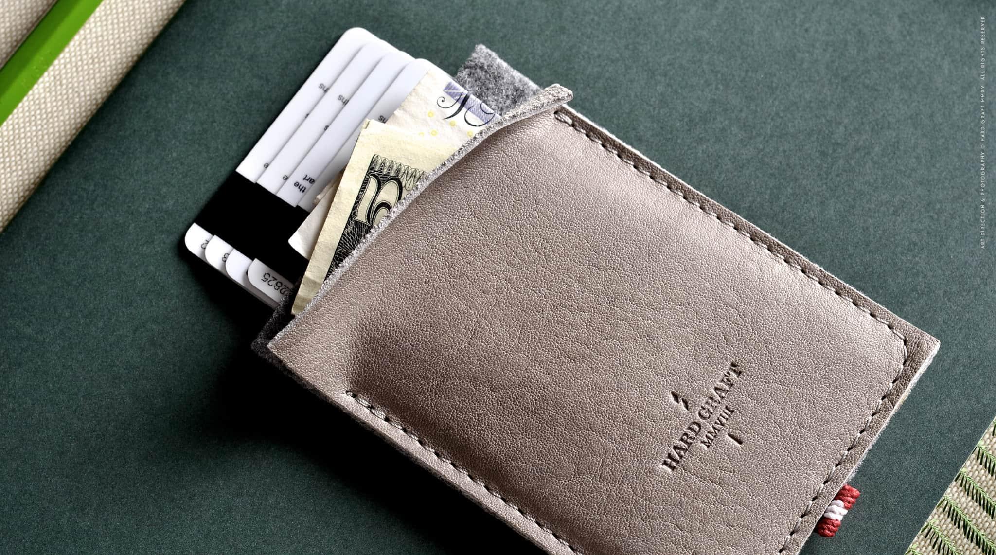 Hard Graft Wild Pocket – slim wallet