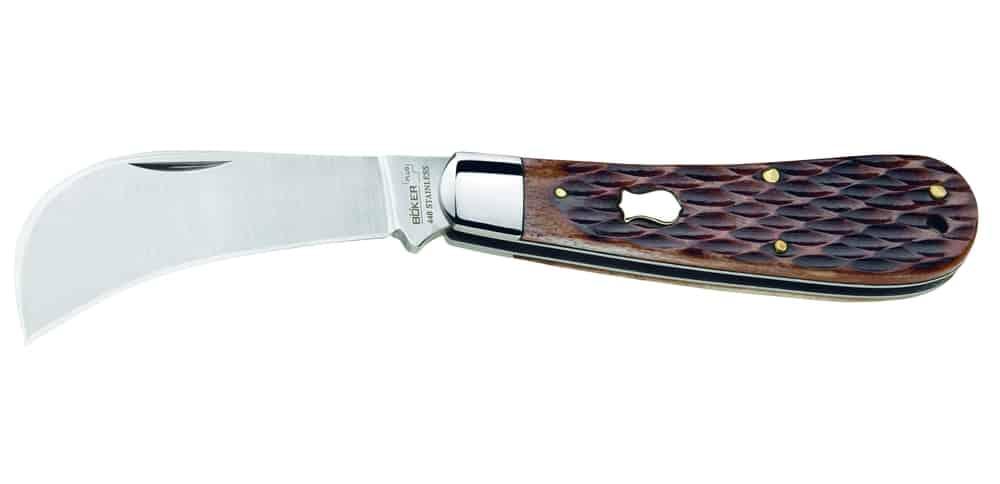 Hawkbill – knife blade shape