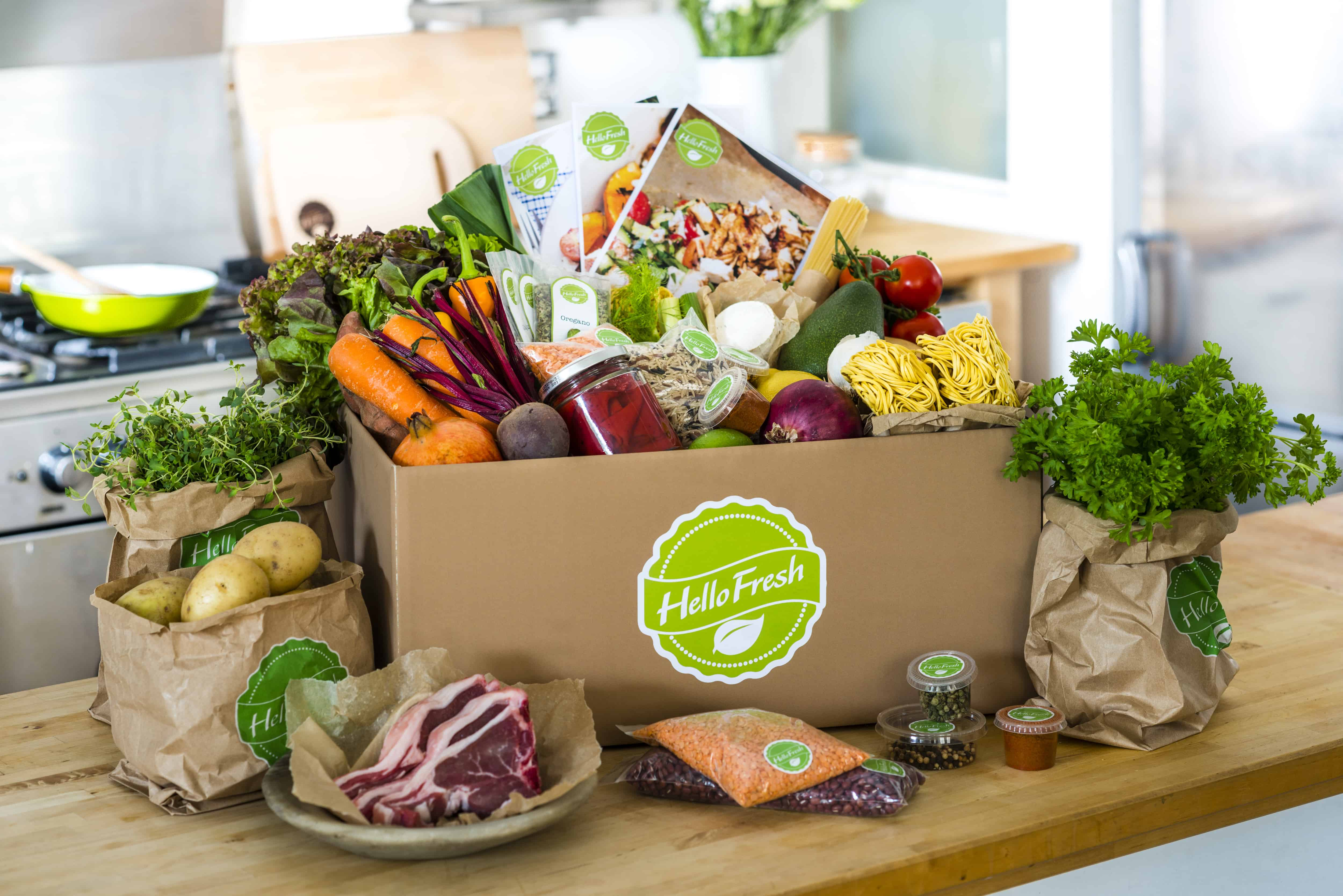 Hello Fresh – mail order meal service