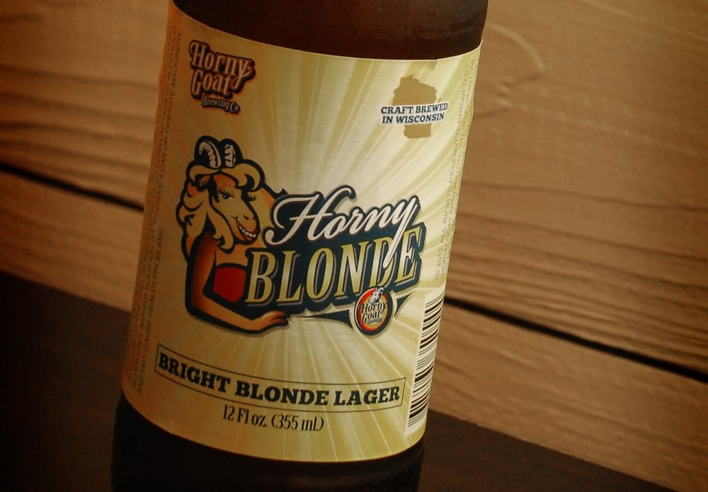 Horny Blonde – light beer