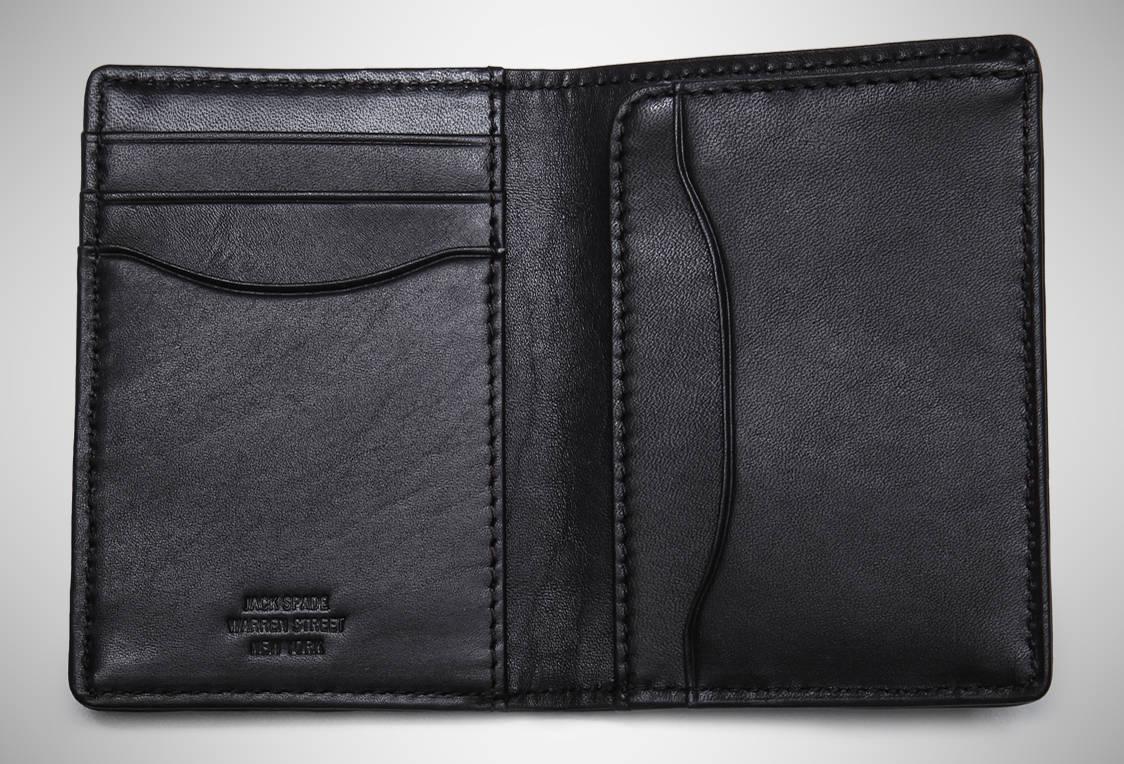 Jack Spade Waxwear Vertical – slim wallet