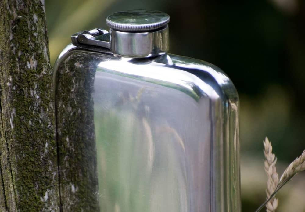 Kaufmann Mercantile Handmade Pewter Purse Flask