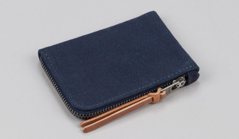 MAKR Canvas Zip – slim wallet