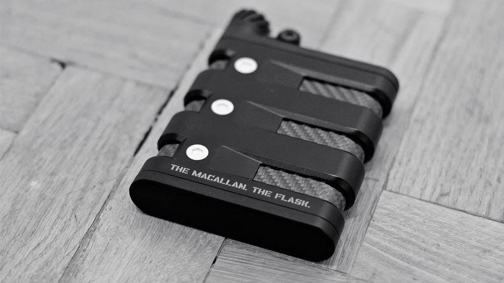 Macallan & Oakley Flask