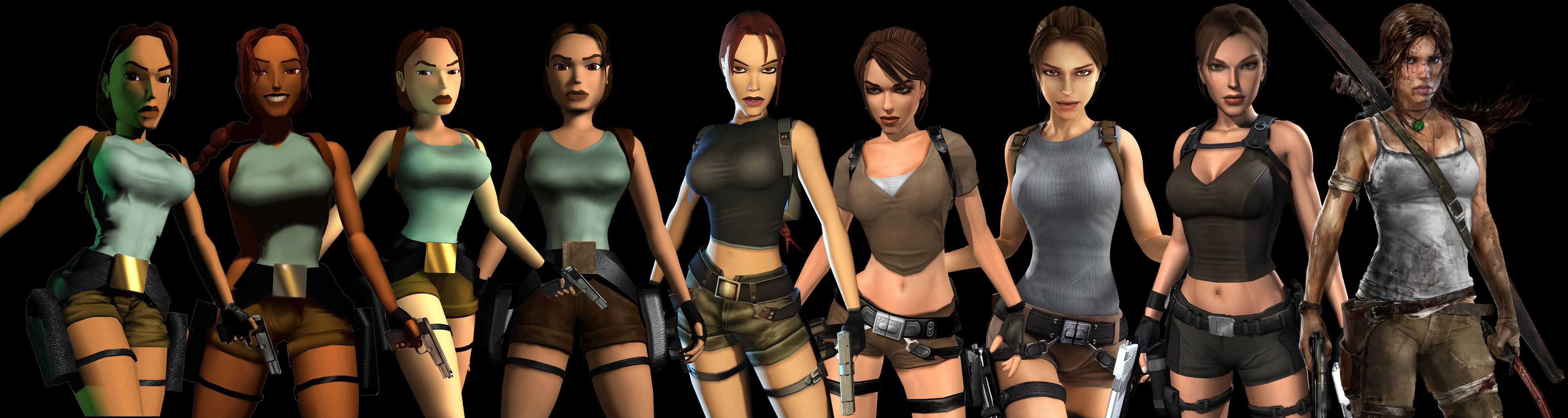 Make Lara Croft Naked – video game myth