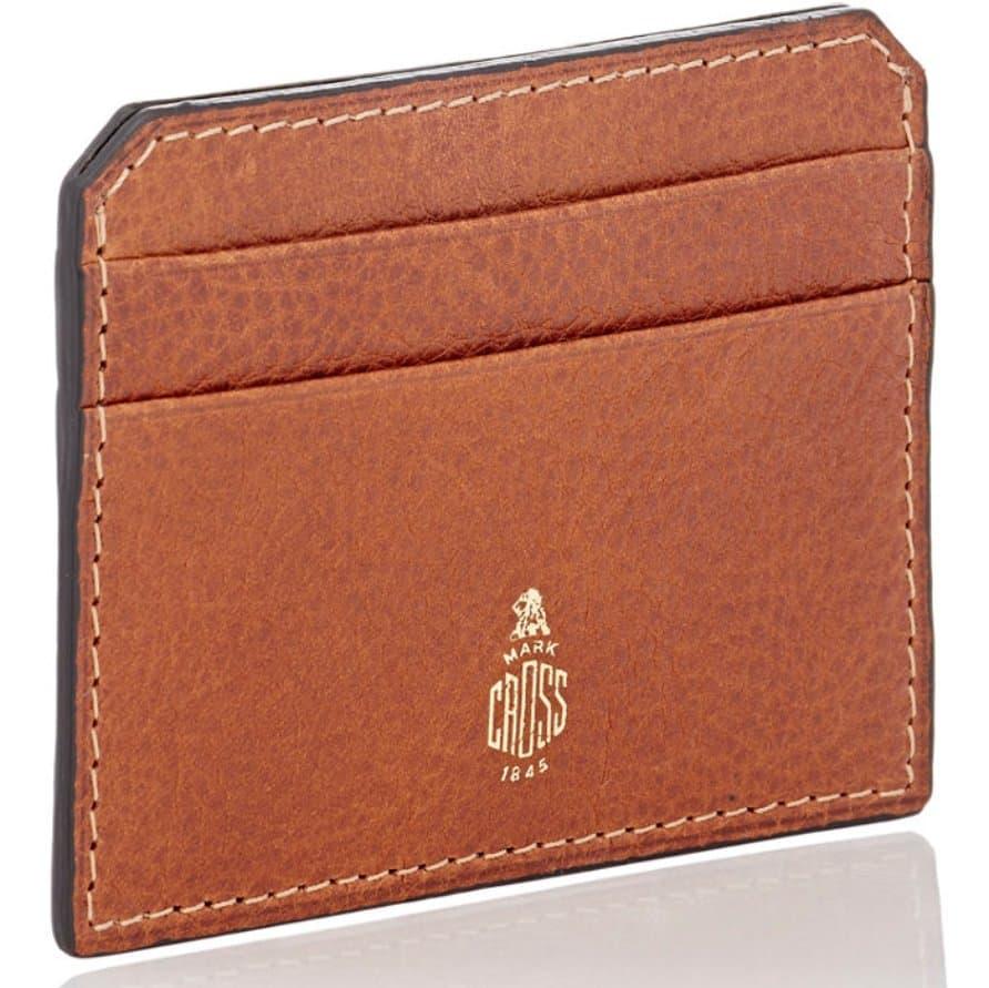 Mark Cross Flat Card Case – slim wallet