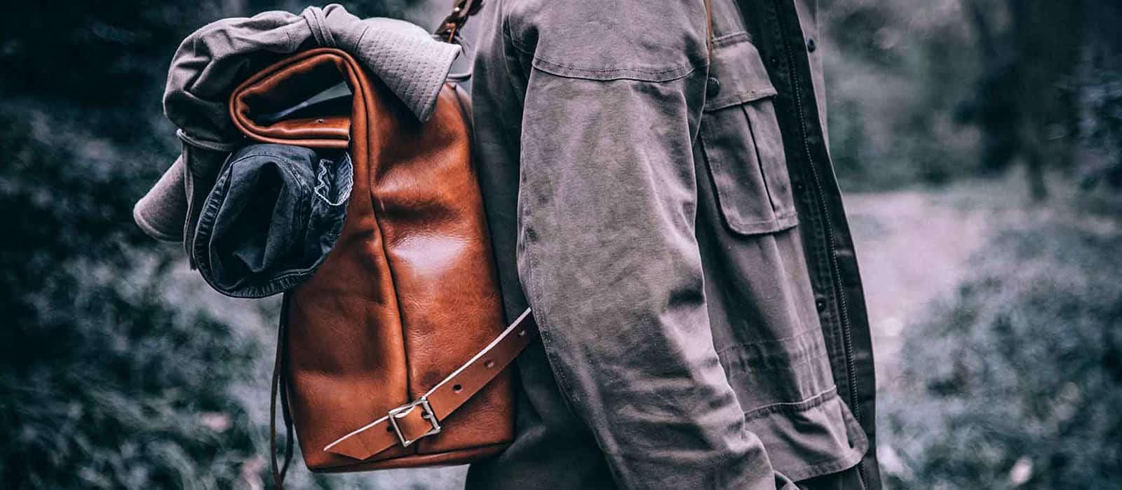Mifland Rucksack – rolltop backpack