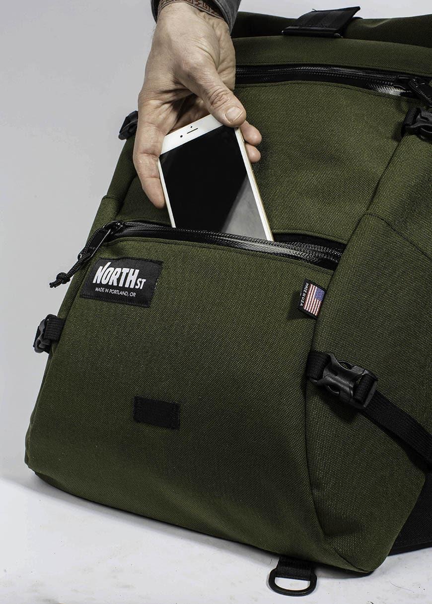 North St. Flanders – rolltop backpack