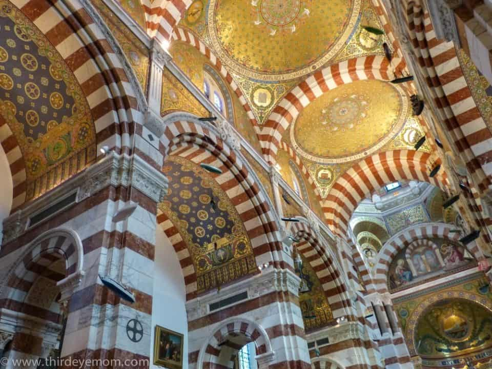 Notre Dame de la Garde Marseille beautiful ceiling 960x720 Look Up At The 21 Most Beautiful Ceilings In The World