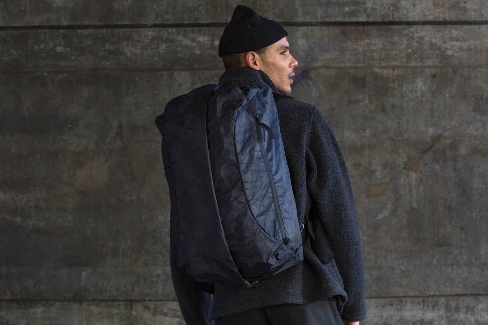 Outlier UltraHigh – rolltop backpack