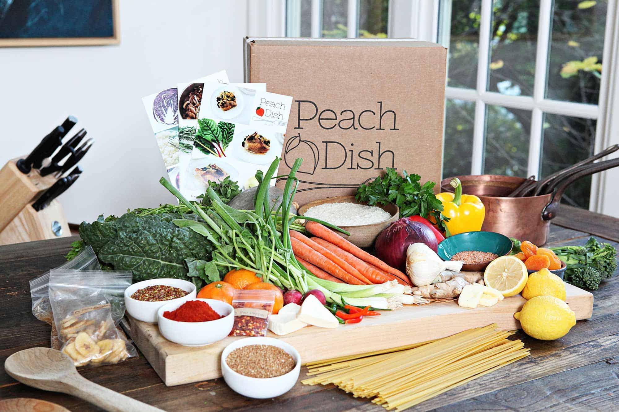 Peachdish – mail order meal service