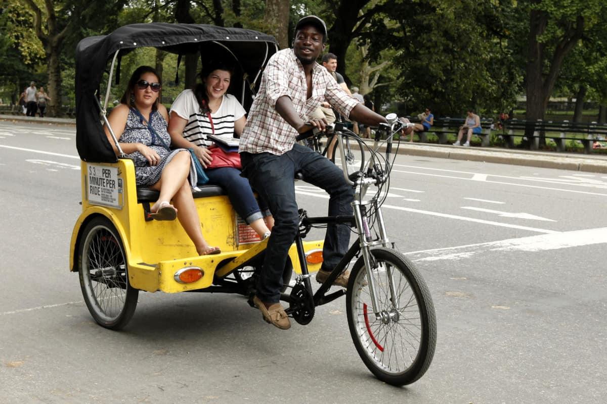 Pedicab – NYC travel tip