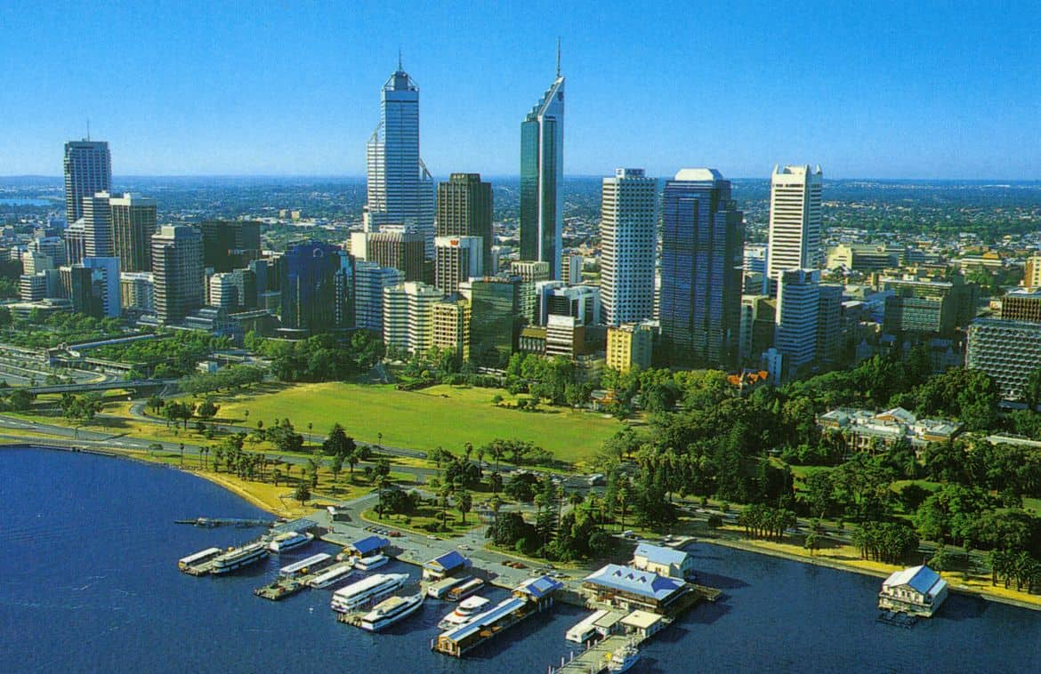 Perth, Australia – escape nuclear war