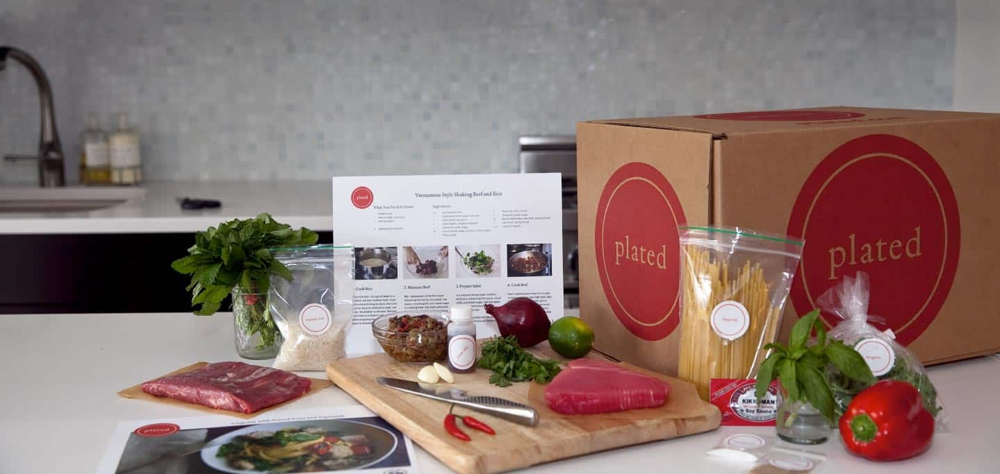 Plated – mail order meal service