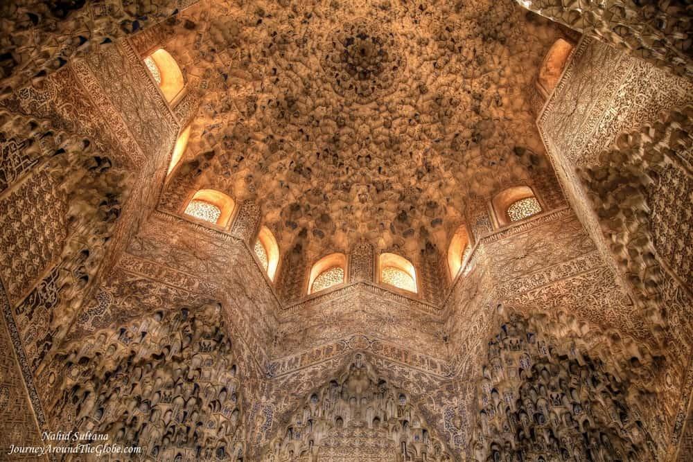 Qalat Al-Hamra, Grananda, Spain – beautiful ceiling