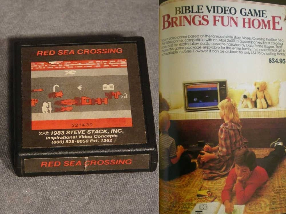 Red Sea Crossing – valuable video game