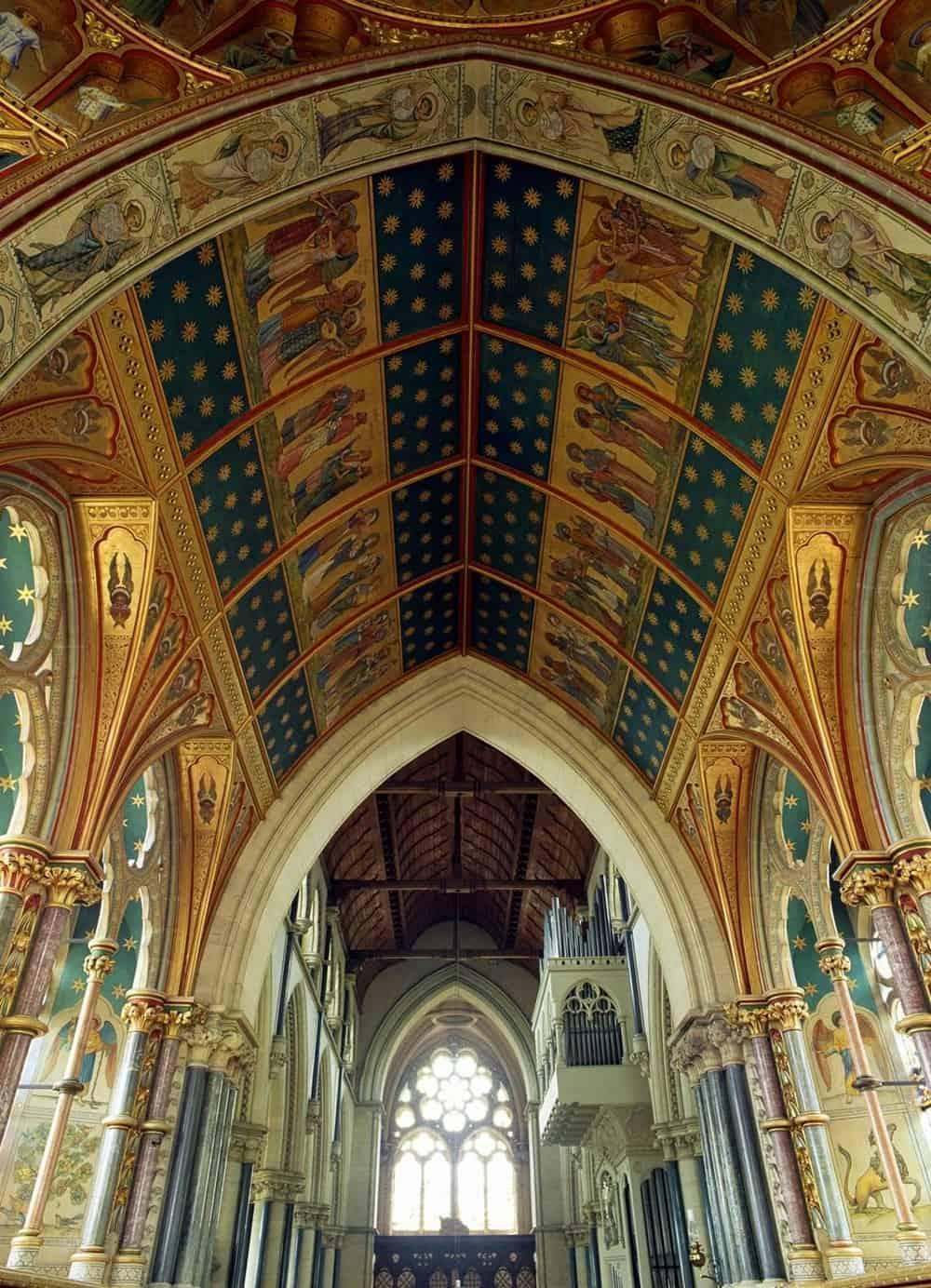 Saint Mary's Church, England – beautiful ceiling