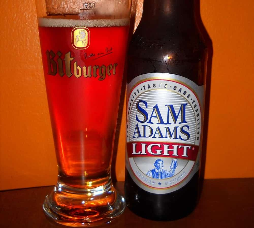 Sam Adams Light Beer