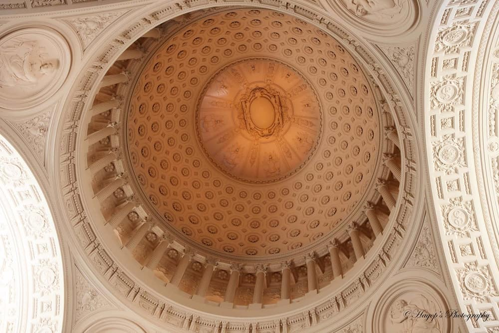 San Francisco City Hall – beautiful ceiling