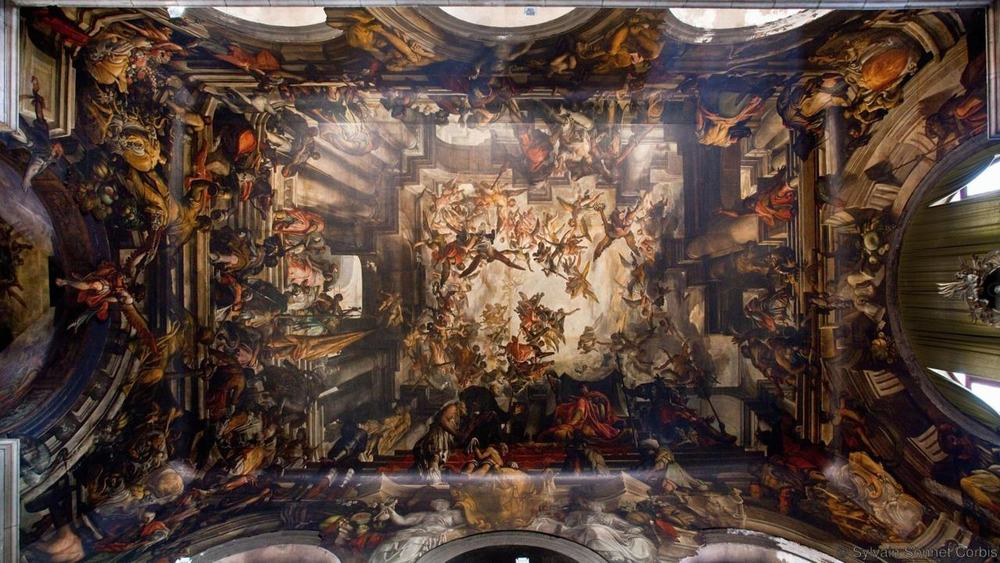 San Pantalon, Dorsoduro, Venice – beautiful ceiling