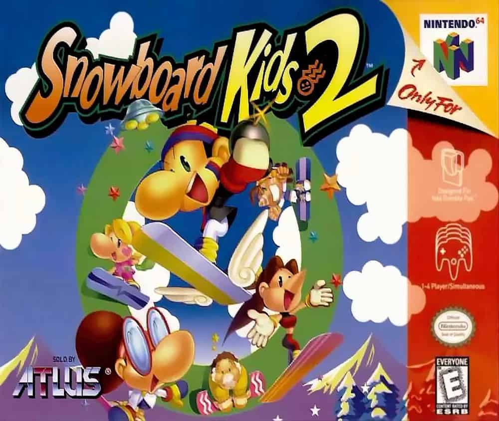 Snowboard Kids 2 – valuable video game