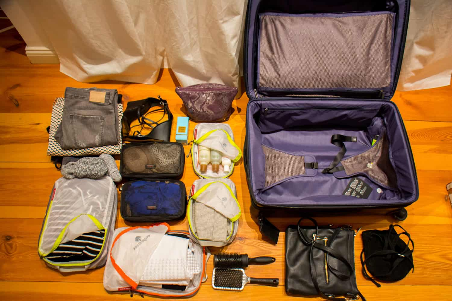 Staging – how to pack