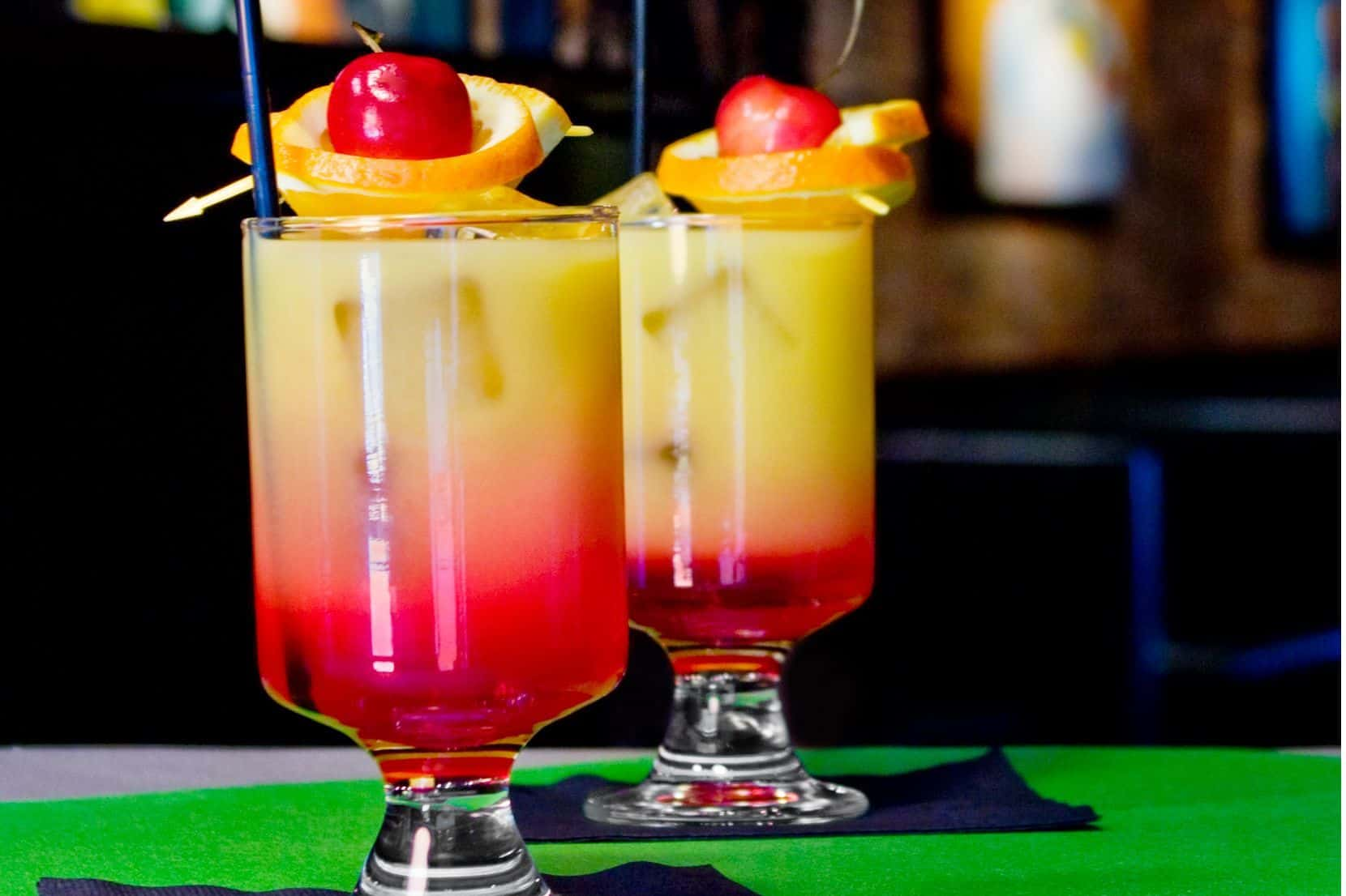 Tequila Sunrise – girly drink