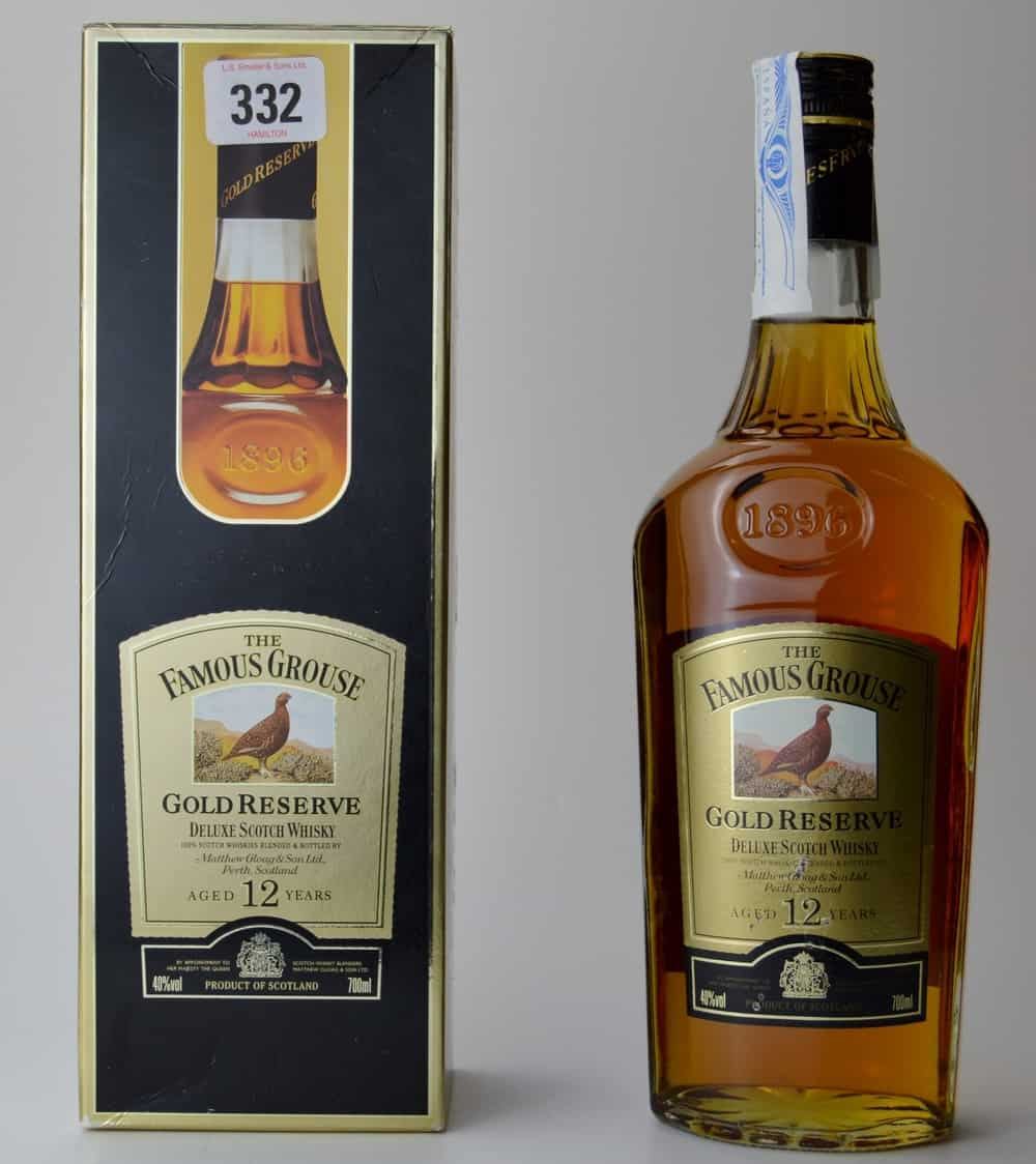 The Famous Grouse Gold Reserve – blended scotch
