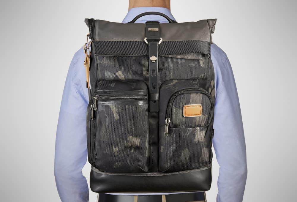 Tumi Alpha Bravo Luke – rolltop backpack