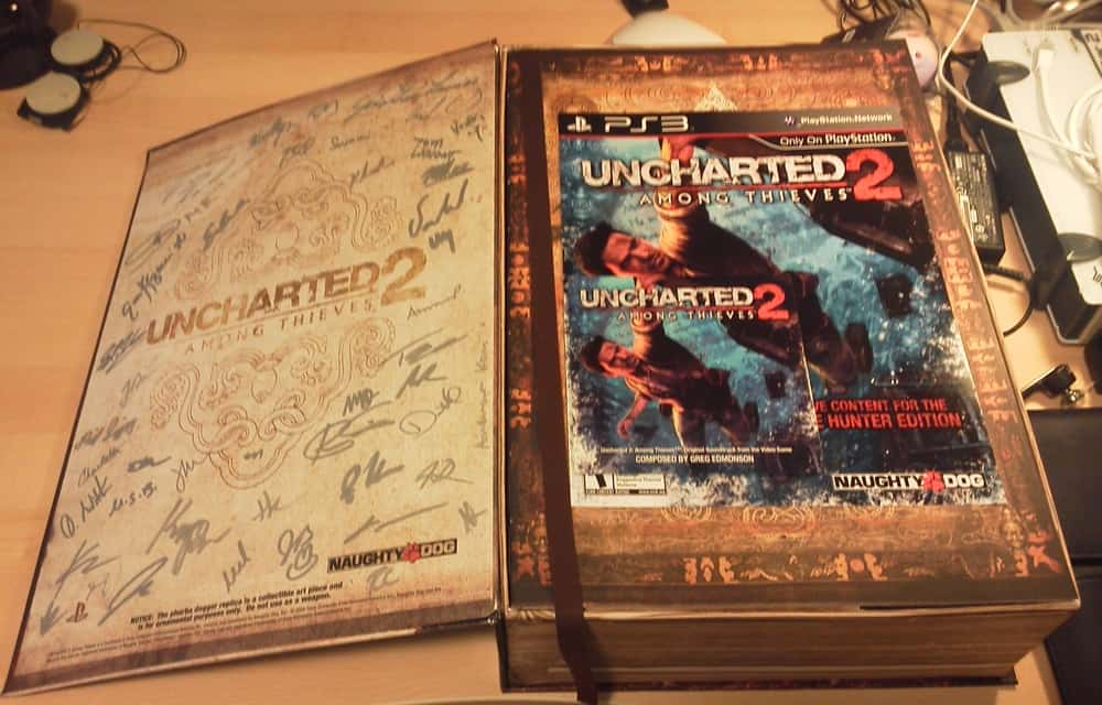 Uncharted 2 Fortune Hunter Edition – valuable video games
