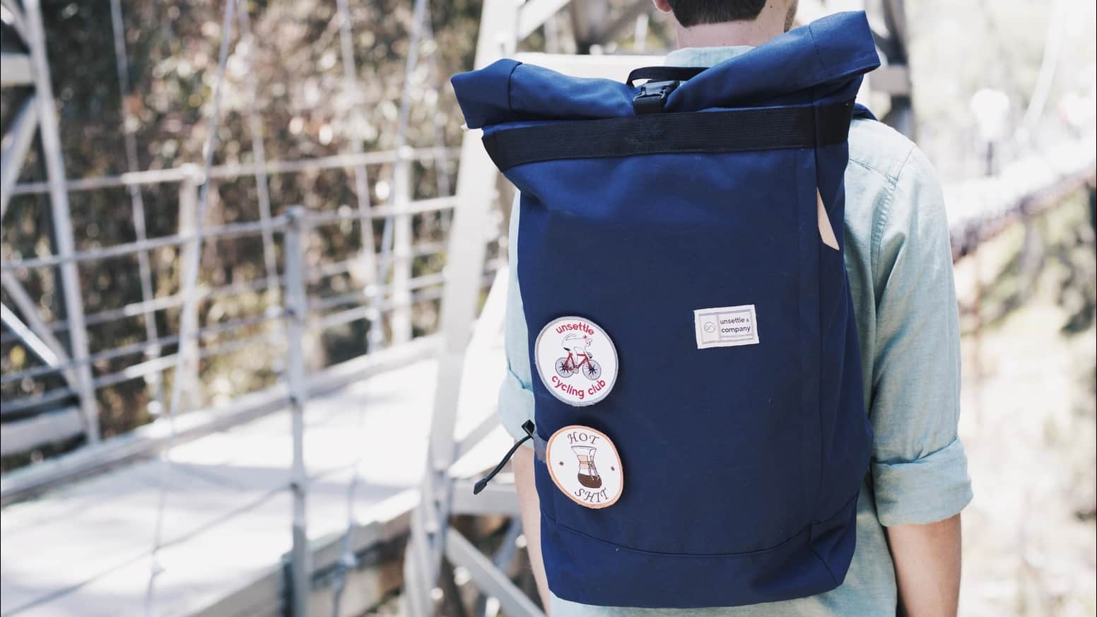 Unsettle's The Commuter – rolltop backpack
