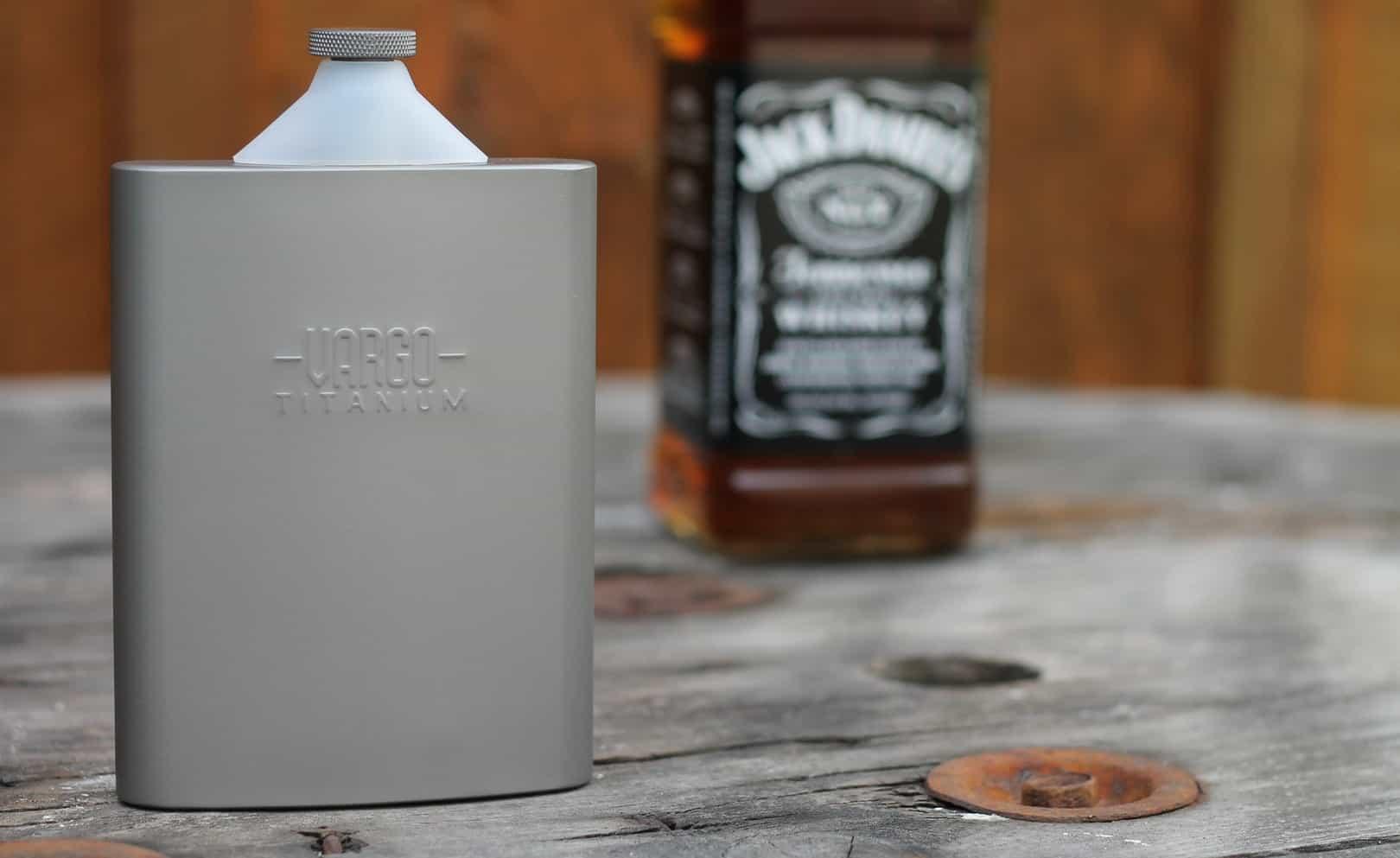Vargo Titanium Funnel – flask