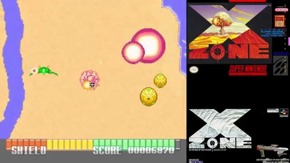 X Zone – valuable video game