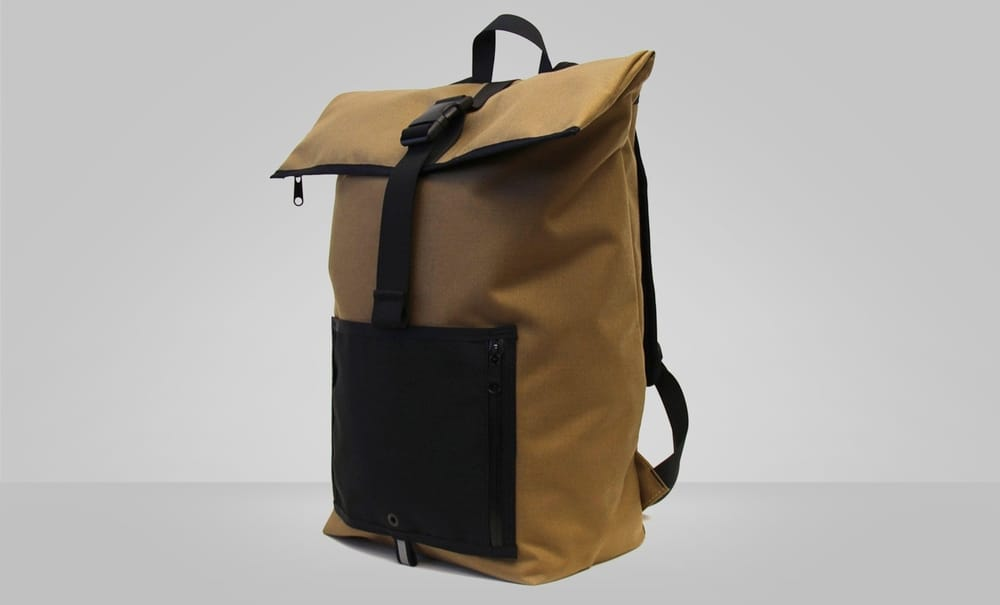 YNOT Tuck and Roll – rolltop backpack