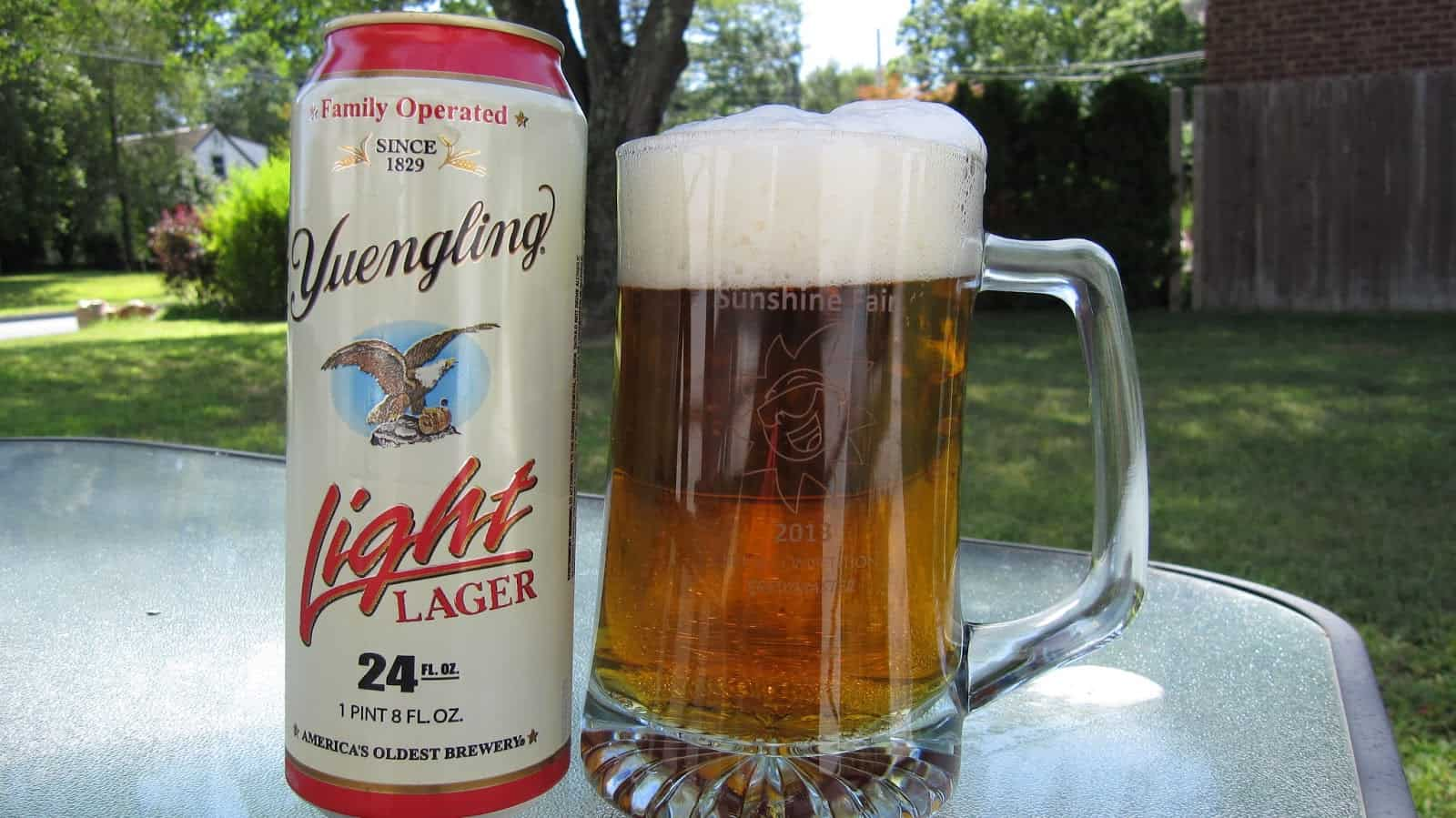 Yuengling Light Beer Lager