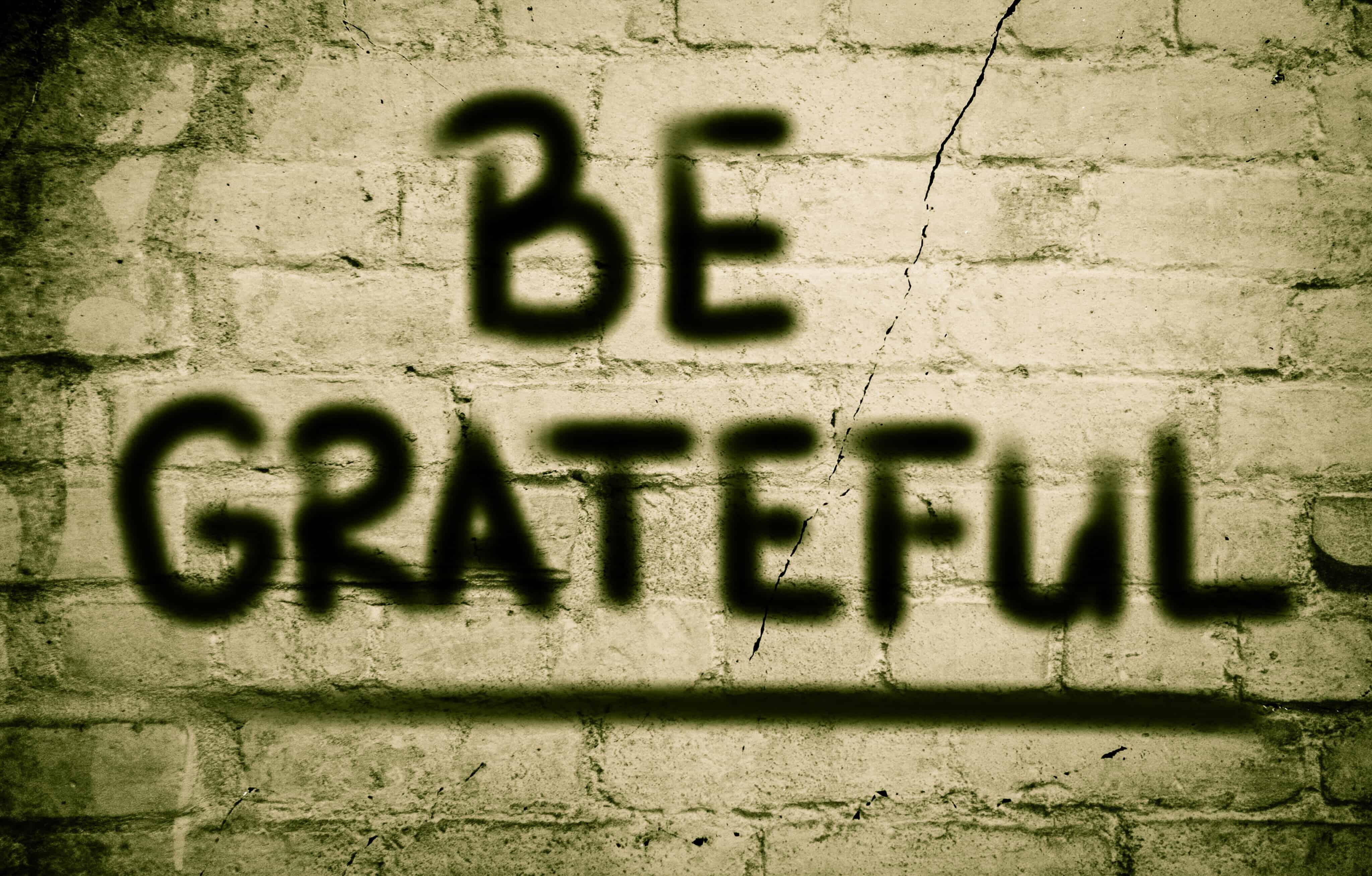 Be Grateful Concept