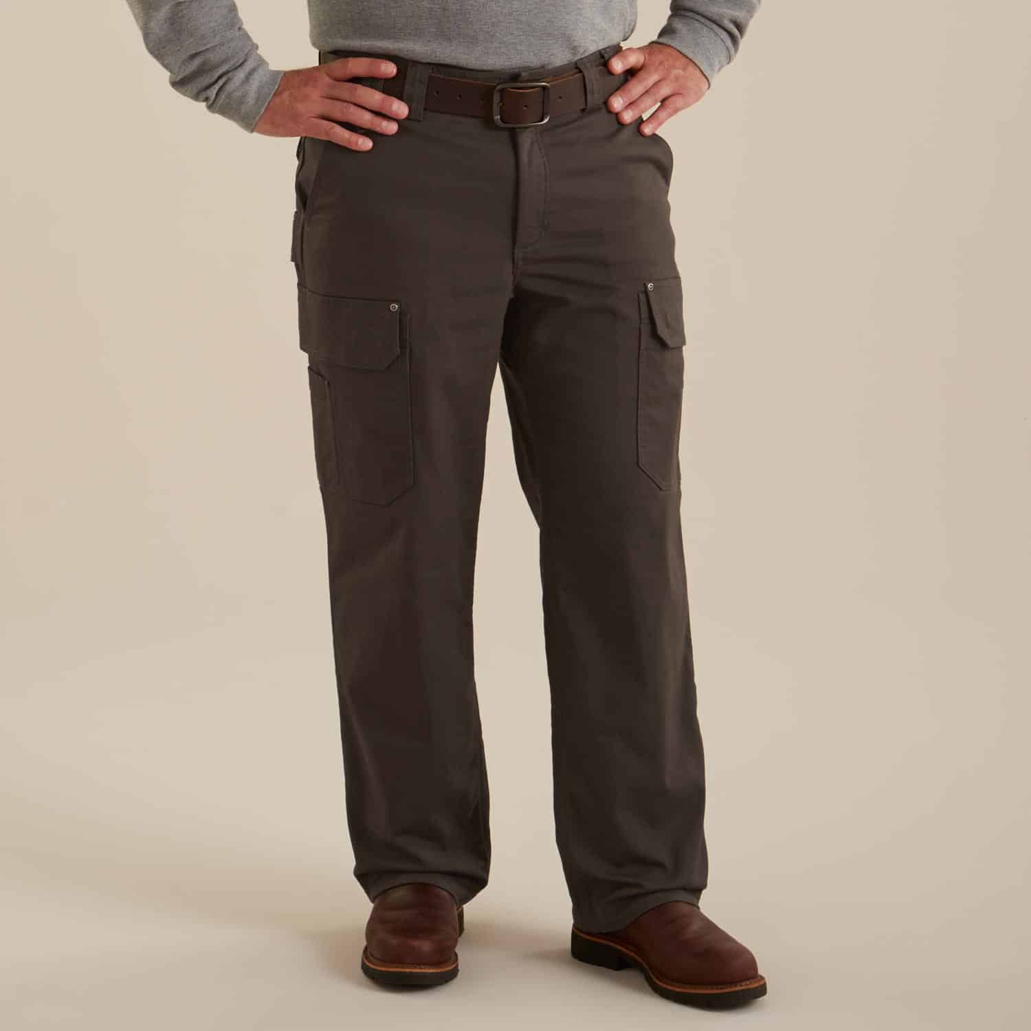 Duluth Flex Fire Hose Work Pants for Men