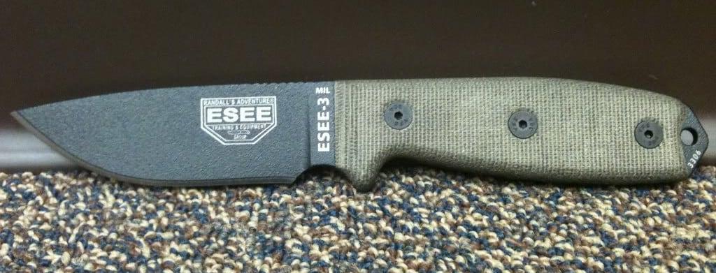 ESEE-3 – fixed blade edc knife