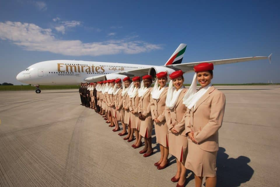 Emirates airline 960x640 The Worlds 22 Best Airlines For Flying In Comfortable Style