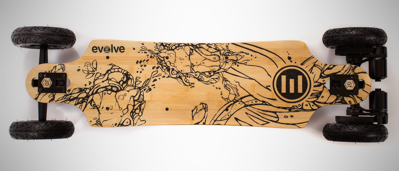 Evolve GT Bamboo Street – electric skateboard