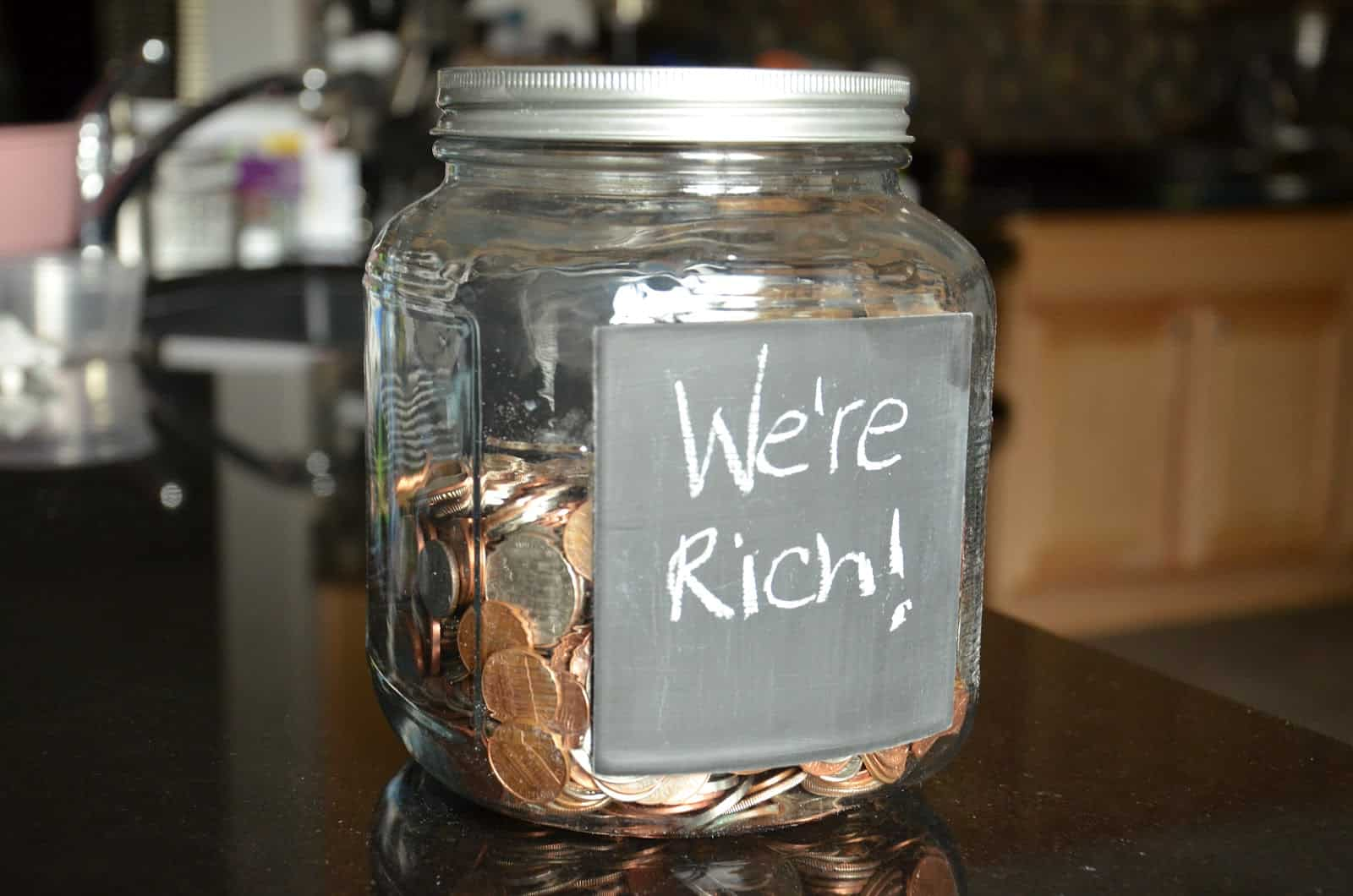 Get a Change Jar – how to save money