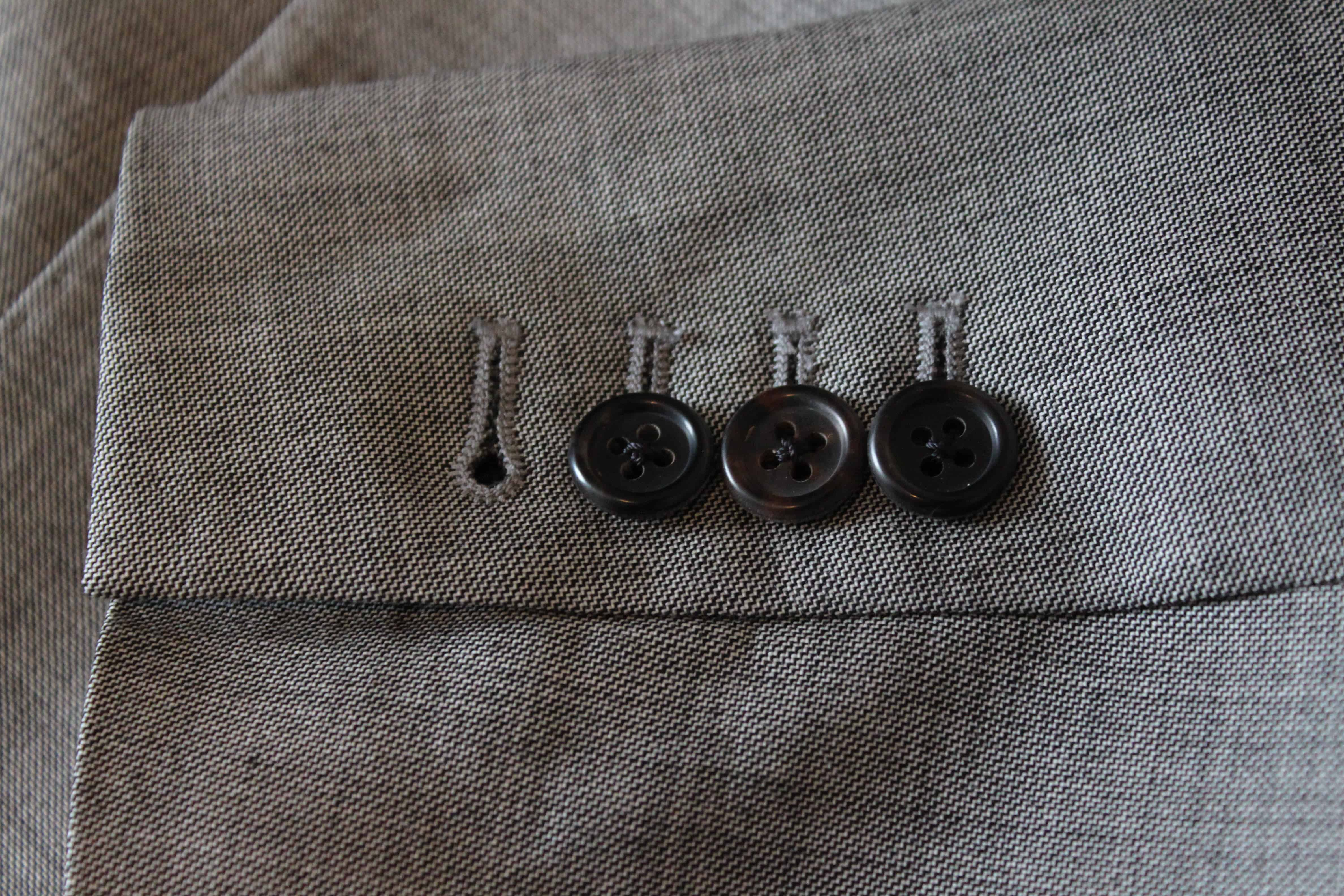 Kissing Sleeve Buttons – types of suits