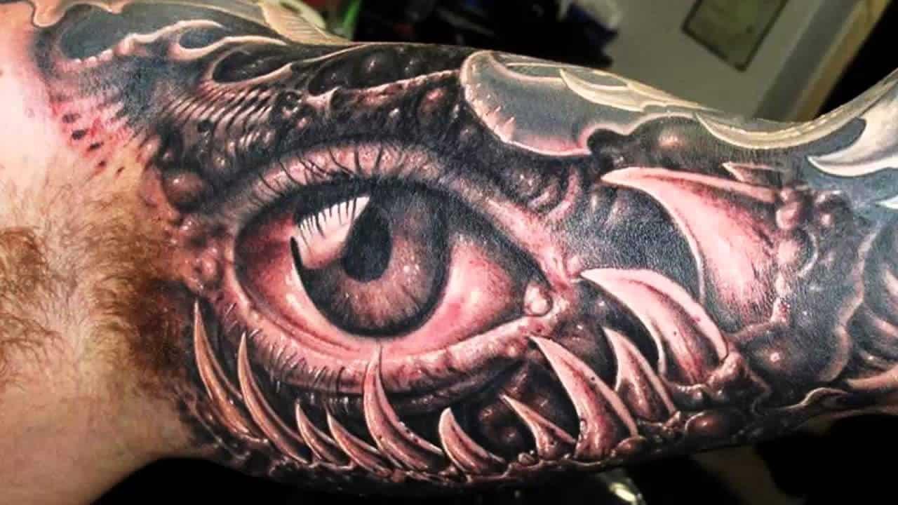 Mutation – 3D tattoo