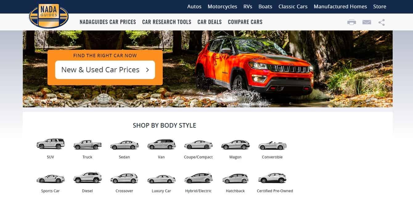 NadaGuides – buy used car