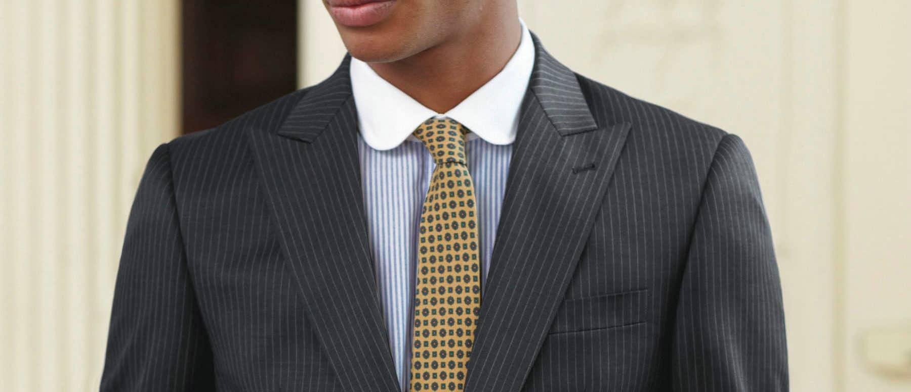Peak Lapels – types of suits