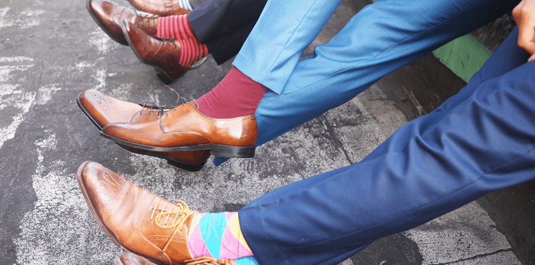 Feets Don't Fail: A Guy's Guide To Buying Men's Dress Socks